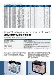 PDF brožura pro motocykly a skůtry - Automobilová technika - Bosch