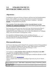 3-s strahlenschutz - hintergrundbelastung - ABC-Gefahren