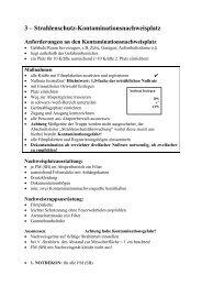 3 ? Strahlenschutz-Kontaminationsnachweisplatz - ABC-Gefahren