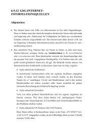 6-5.12 GSG-INTERNET- INFORMATIONSQUELLEN - ABC-Gefahren