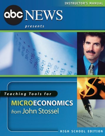to download the Microeconomics teachers guide, High ... - ABC News