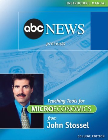 to download the Microeconomics teachers guide - ABC News