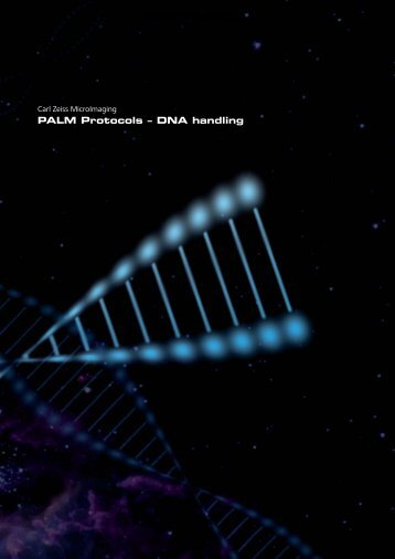 PALM Protocols ? DNA handling - CGRB Core Laboratories