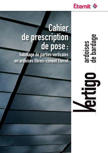 Canexel bardage for Guide de pose ardoise
