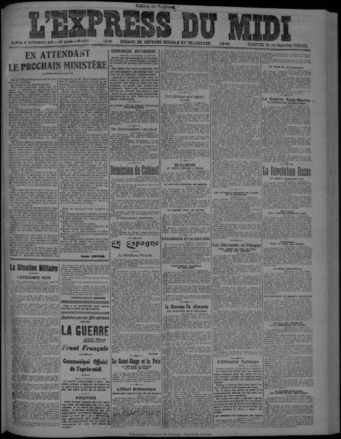 Démission k Cabinet LA GUERE La Révolutîôn Risse
