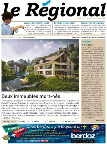 Télécharger l'édition n°632 au format PDF - Le Régional