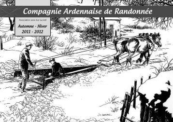 Automne-Hiver 2011-2012 - Compagnie ardennaise de randonnee