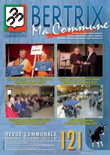 Revue Communale de Bertrix n° 121