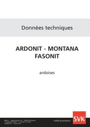 ARDONIT - MONTANA FASONIT - SVK