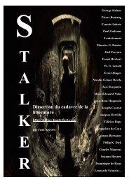 Dissection du cadavre de la littérature - Stalker - Haut et Fort