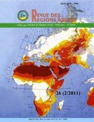 (2-2011) (en PDF) - Institut des Régions Arides