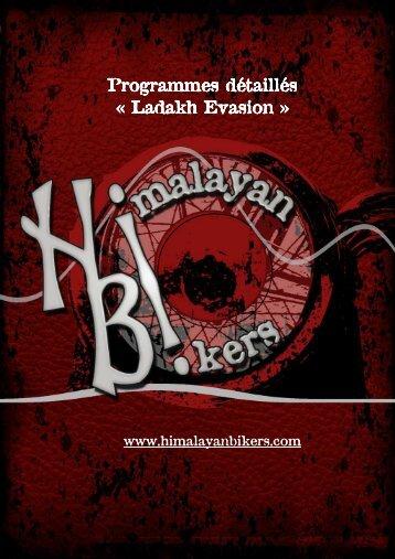 Ladakh evasion - Himalayan Bikers