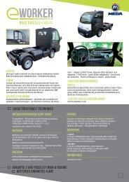 Télécharger la fiche technique - véhicules utilitaires MEGA