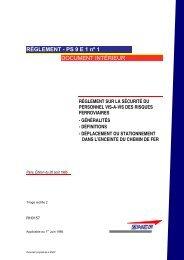 RH 0157 - Sécurité du personnel - Établissement Public de Sécurité ...