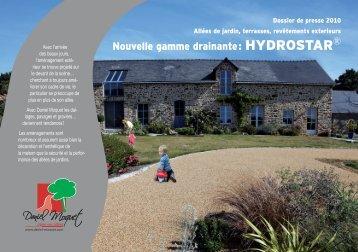 Nouvelle gamme drainante : HYDROSTAR - Agence Communiqués