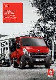 Brochure Renault Master C/C (PDF)