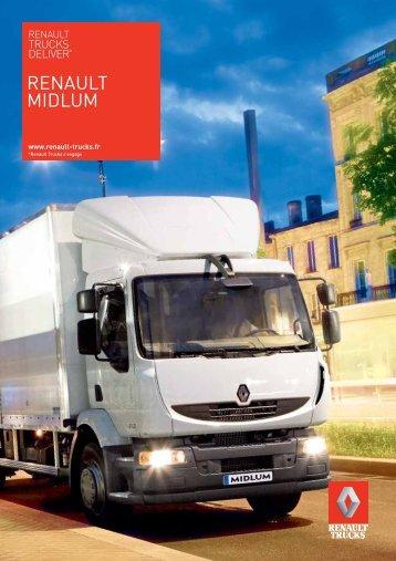 Brochure Renault Midlum (PDF)