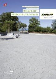 Produits intégrés - Creabeton Materiaux AG