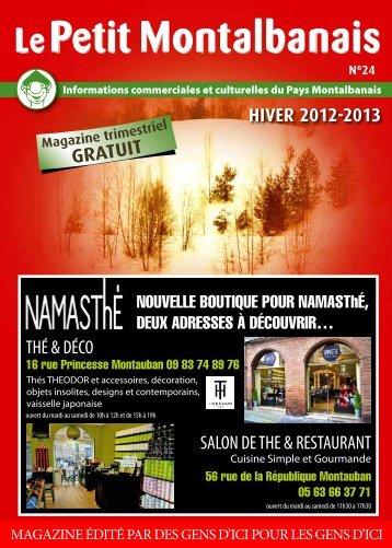 hiver 2012-2013 salon de the & restaurant thé & déco - Le ...