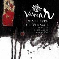 xlvi Festa des Vermar - Ajuntament de Binissalem