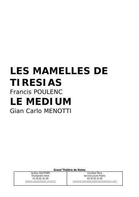 Grand Théâtre de Reims - Cndp