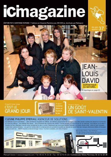 JEAN- LOUIS DAVID 37 - ICI Magazine