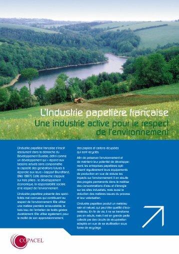 télécharger la brochure environnement Copacel ... - Gascogne Paper