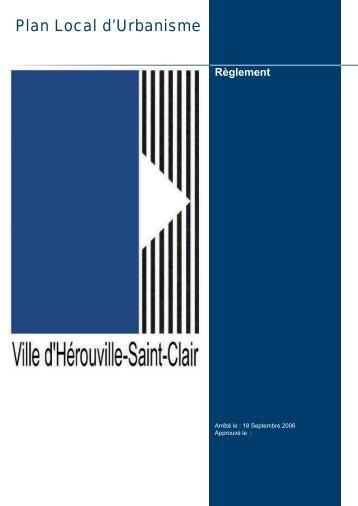 Règlement PLU - Hérouville Saint-Clair