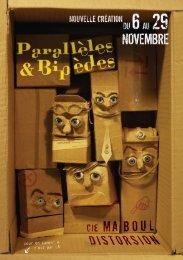 Quatre personnages projetés dans un monde en carton-pâte, sous ...