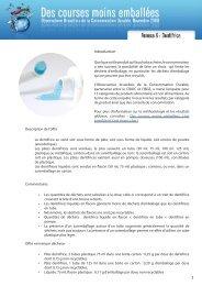 Emballage et dentifrice - Crioc