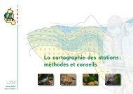 La cartographie des stations : méthodes et conseils - Centres ...