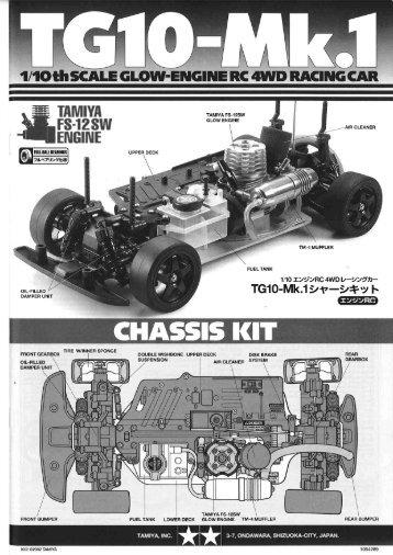 Tamiya TG10-Mk.1 Manual - Wheelsacademy.info