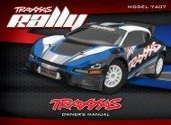 7407 Manual - Traxxas