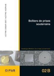 Boîtiers de prises souterrains - GIFAS Electric GmbH