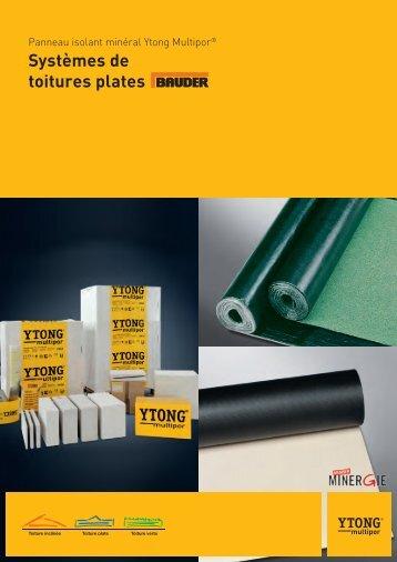 Brochure Systèmes de toitures plates - Ytong