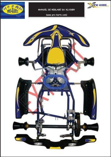 MANUEL DE REGLAGE DU XL10SBV (www.pro-karts.com)