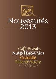 Café Brasil Nutgel Brownies Granelle Pâte de Sucre - Prodotti Stella