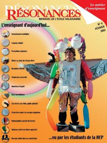 No 06 Le métier d'enseignant.pdf - Etat du Valais