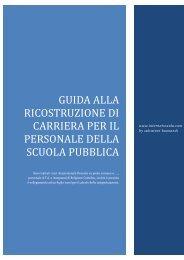 GUIDA ALLA RICOSTRUZIONE DI CARRIERA ... - internet scuola