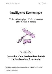 protection de marque et de brevet - Antoine SOUBIGOU
