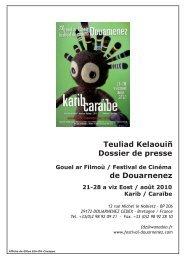 Dossier de presse FDZ.pdf - Festival de cinéma de Douarnenez