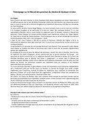 Intervention du P. Sébastien Guiziou - Liturgie catholique