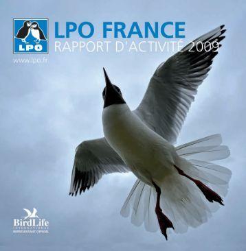 Rapport d'activité 2009 - LPO