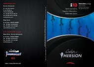 Catalogue 2013 - IMERSION