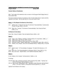Program Reader - Academic Program Pages at Evergreen - The ...