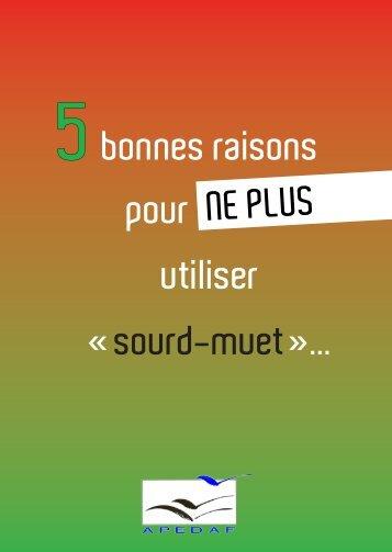 sourd-muet»... - Agence Wallonne pour l'Intégration des Personnes ...