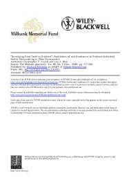 Jewell - Academic Program Pages at Evergreen