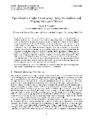 Optimization Under Uncertainty Using Derivatives and Kriging ...