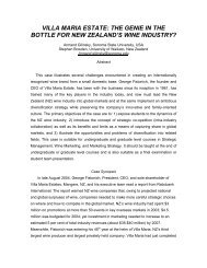 villa maria estate - Academy of Wine Business Research