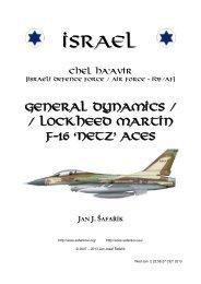Israel - General Dynamics F-16